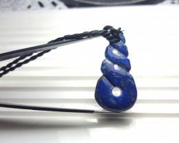 27.7 cts Beautiful Lapis Lazuli Pendant.