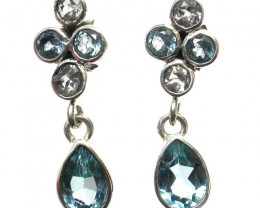 EARRING GEMSTONES-DIRECT FROM FACTORY 17.45 CTS [SJR5]