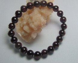 Collective Garnet Stone Bracelet 8 MM