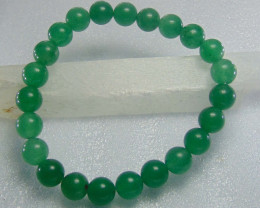 Beautiful green Aventurine Beats 8 mm Round 93.40 cts