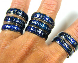RESELLERS DEAL 100 MOOD CHANGE RINGS AAT 81130