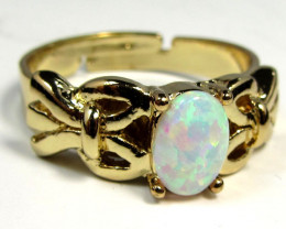 imoBRIGHT OPAL RING ADJUSTABLE SIZES CSS 163