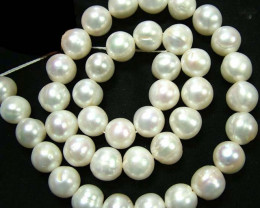 STUNNING PEARL STRAND -LARGE 10 MM 291.75 CTS [SJ668]