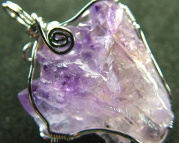 AMETHYST CLUSTER WIRE WRAPPED 41.05 CTS [GT310]