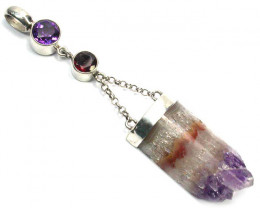 AMETHYST PENDANT DIRECT FROM FACTORY 44.35 CTS [SJ1194]