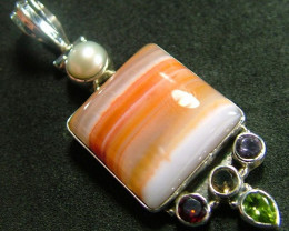 STUNNING AGATE PENDANT 59.00 CTS [GT825 ]
