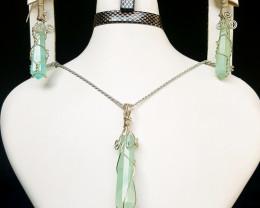 Natural Jade Pendants.
