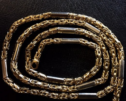 44.5 grams 9k Solid Gold Chain 44.5 GRAMS BEAUTIFUL CHAIN L238
