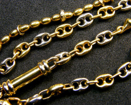 25.6 grams 18 K GOLD CHAIN WHITE GOLD 25.60 GRAMS L 405
