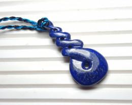 37 cts Beautiful Lapis Lazuli Pendant.