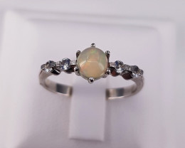 Beautiful Natural Opal Ring