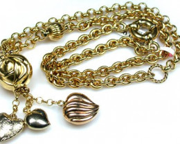 23.1 grams 18K ITALIAN GOLD CHAIN, 45 CM LONG 23.1 GRAMS L372
