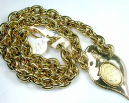 29 grams 18K ITALIAN GOLD CHAIN, 50 CM LONG 29 GRAMS L376