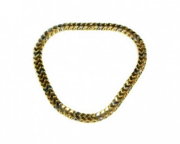56 grams 18K ITALIAN GOLD CHAIN , 42 CM LONG L390