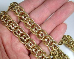 36 Grams Make n Offer 18K ITALIAN GOLD CHAIN , 42 CM LONG L393