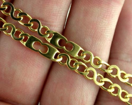 44.5 Grams BEAUTIFUL 18k Solid Gold Chain 44.5 GRAMS L242