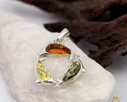 Baltic Amber Pendant  Sale, direct from Poland plus Bonus AM 102