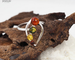 Baltic Amber Ring size 10  Sale, direct from Poland  AM 312