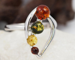 Baltic Amber Ring size 9  Sale, direct from Poland  AM 313