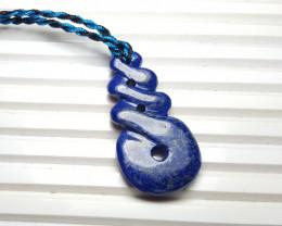 39.5 cts Beautiful Natural Lapis Lazuli Pendant.