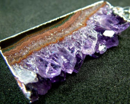 AMETHYST GEODE - SLICE WITH BAIL 51 CTS [MX2339 ]