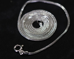 18 Inch,50 cm Italian Box Snake Chain.most popular chain    AM123