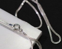 18 Inch,50 cm Italian Box Snake Chain.most popular chain    AM125