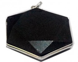 Black Tourmaline Stone Star  Faceted cuts shape