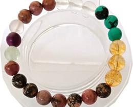 Bead Multi Stone Gemstone  Bracelets