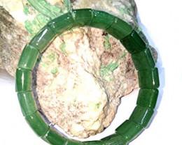Green Aventurine Faceted Stone 15 mm bracelet