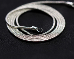 18 Inch,46 cm  Snake   Silver chain , most popular .    AM206