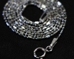 18 Inch,45 cm Ball Mix Silver chain , most popular . AM 231