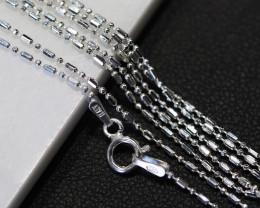 THREE X18 Inch,45 cm Ball Mix Silver chain , most popular . AM 233