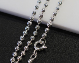 20 Inch,50 cm Heavy  Ball Silver chain , most popular . AM 236