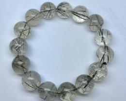 Natural Rutile Quartz Bracelet