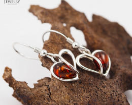 Baltic Amber Earring Sale,Sheppard hook s, direct from Poland  AM 243