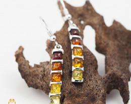 Baltic AmberLong  Earring Sale,Sheppard hook s, direct from Poland  AM 245