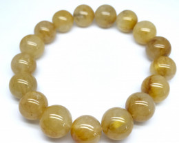 Golden Rutile Quartz Bracelet