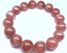 Natural Rhodochrosite Bracelet