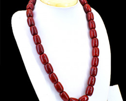 Red Jasper Huge Beads Necklace