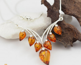 Baltic Amber Sale, Cluster Necklace , direct from Poland  AM305