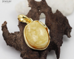 Butterscotch  Amber Sale, Silver Pendant  , direct from Poland  AM 325
