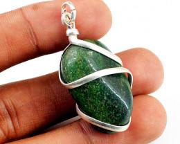 Green Garnet Healing Pendant