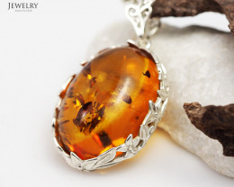Natural Amber pendants