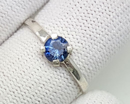 7.00 carat Beautiful 925 Silver Royal Blue Sapphire Ring