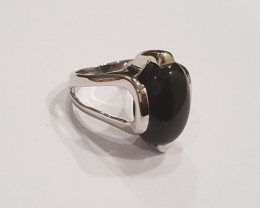 Black onyx 925 Sterling silver ring #191