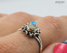 Cute Moonstone Silver ring WS 410