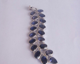 Iolite 925 Sterling silver pendant #34188
