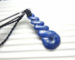 33.3 cts Beautiful Natural Lapis Lazuli Pendant.
