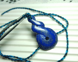 59.6 cts Beautiful Natural Lapis Lazuli Pendant.